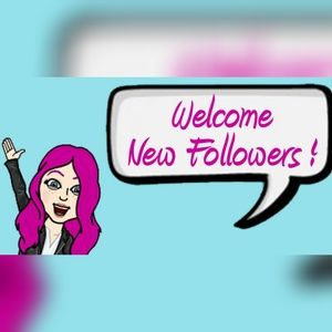 Welcome New Followers!!!🌷🌷💥💥💜🤗